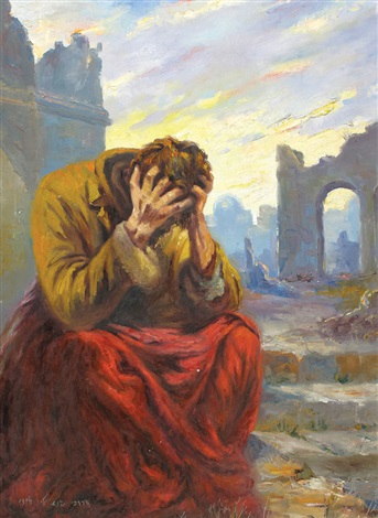 at the gates of jerusalem by mordechai janashvili