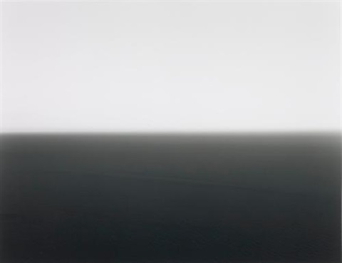 mediterranean sea cassis by hiroshi sugimoto