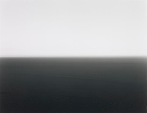 mediterranean sea cassis by hiroshi sugimoto
