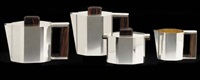 coffee and tea set (4 pieces) by gérard sandoz
