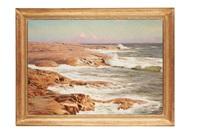 waves breaking by johan fredrik krouthen