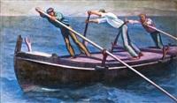 halászok by manó (emanuel) vesztróczy