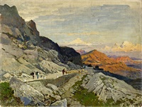 in montenegro. studie by hermann david salomon corrodi