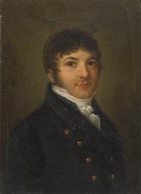 porträt von henri vincent carrard (1766-1820) by marc-louis arlaud