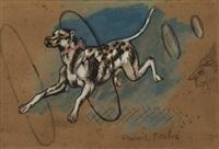 chien de cirque by francis picabia