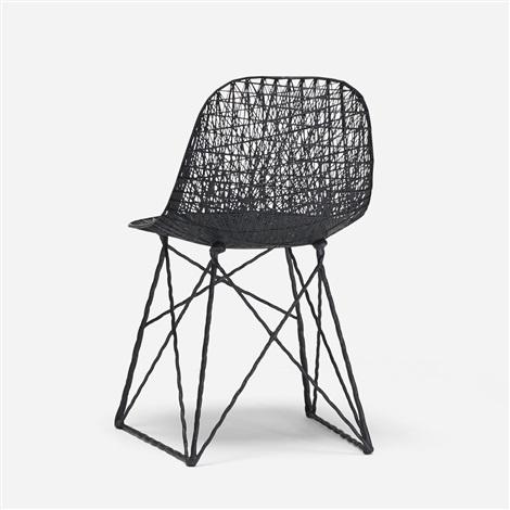 carbon fiber chair by bertjan pot marcel wanders on artnet. Black Bedroom Furniture Sets. Home Design Ideas