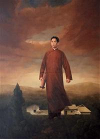 mao zedong by liu guoqiang