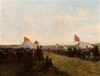 the welcoming of the troops by charles rochussen