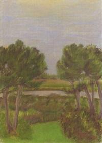 through the pines by jane freilicher