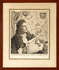 cavalier de la salle (+ jacques cartier; pair) by pierre gandon