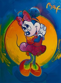 minnie mouse by peter max