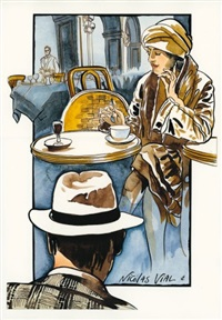 un café parisien by nicolas vial