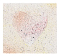 ohne titel (heart) by jim dine