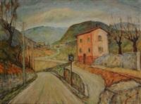 paesaggio a feltre by bruno milano