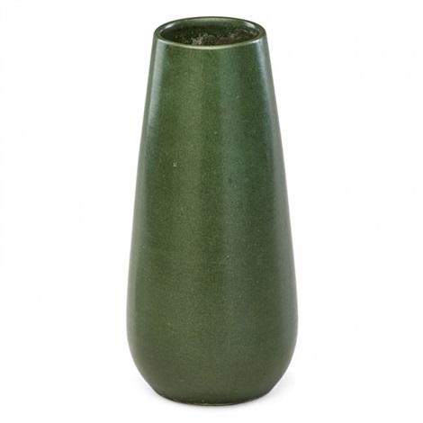 Tall Matte Green Vase By Marblehead Pottery Studio On Artnet