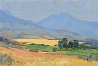 extensive cape landscape by piet (pieter gerhardus) van heerden