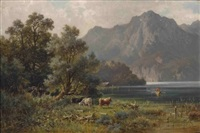 am ufer des kochelsees by ludwig sckell