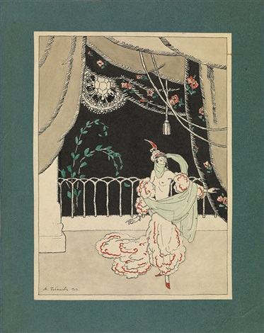 odalisque samarkand illustration for eugene onegin by a pushkin 2 works by mikhail bobyshev