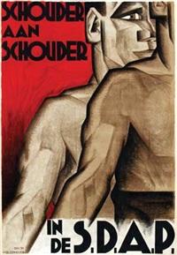 schouder aan schouder in de s.d.a.p. by meijer bleekrode
