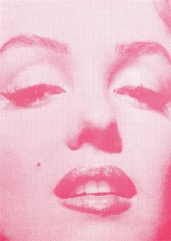 """marilyn monroe """"and you can have it all, my empire of dirt"""" by russell young"""