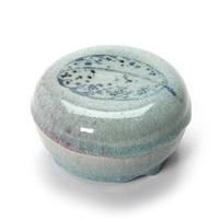 round lidded jar by gertrud vasegaard