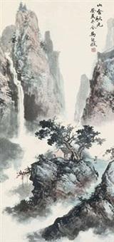 山舍秋光 by ma qi'ou
