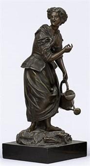 kvinna med vattenkanna by emile victor blavier
