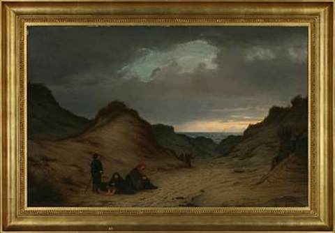 persons in the dunes by peter johann p raadsig