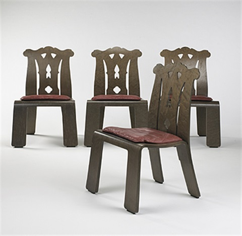 chippendale dining chairs. Chippendale Dining Chairs (set Of 4) By Robert Venturi
