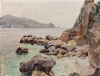 coast of capri by louis ritter