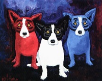 cameo appearance: blue dog series by george rodrique