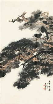 万年有喜 (magpies) by liang shunian
