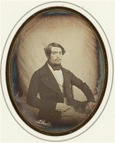 portrait dun jeune homme by joseph auguste belloc