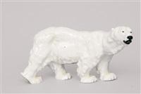 a marching polar bear by otto jarl