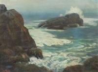 rocky coast by joseph b. kahill