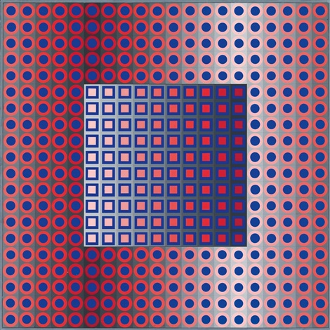 zett bor by victor vasarely