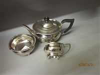 tea service (set of 3) by h atkin