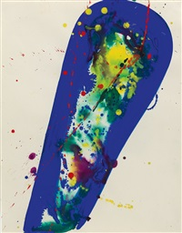 drawing sculpture ? by sam francis