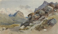 the cuillins by william collingwood smith