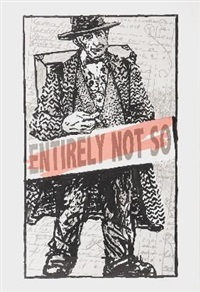 entirely not so by william kentridge