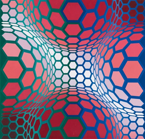 pillango 2 by victor vasarely