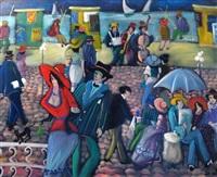 figures in the promenade by shlomo alter