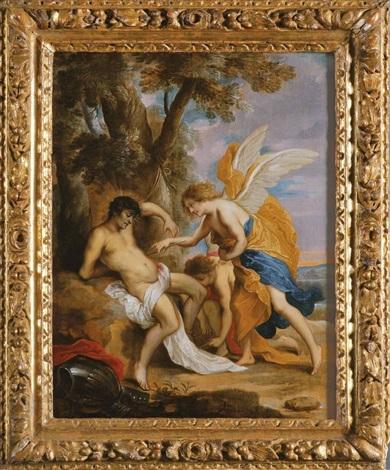 die wunden des heiligen sebastian werden von engeln versorgt by sir anthony van dyck