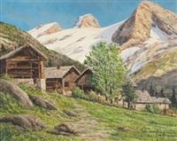 valle d'aosta, castore e polluce by ottorino junior campagnari