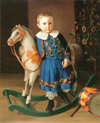 a christmas hobby horse by carl gutsch