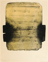 eau-forte n° 29 by pierre soulages