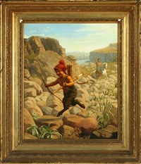 a pan on the run by wilhelm pacht