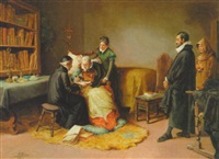 testamentet underskrives by eugenio oliva rodrigo