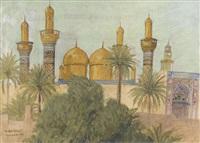 die moschee al-kazimiyyas in bagdad by marcel amiguet