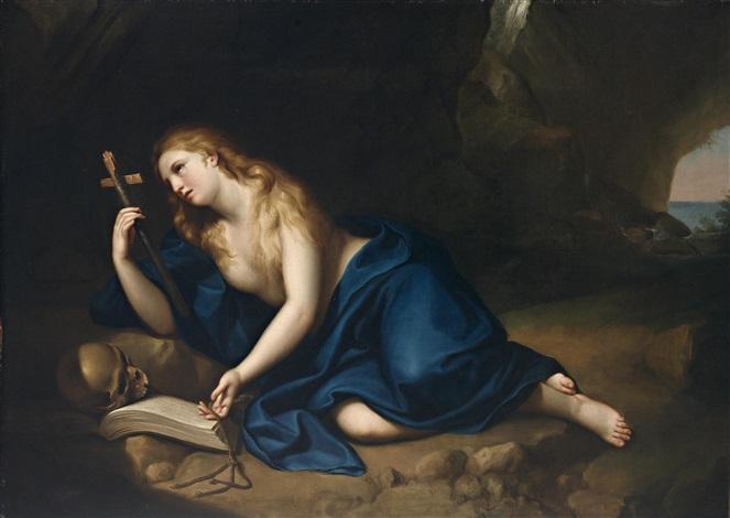 die büßende maria magdalena by anton raphael mengs
